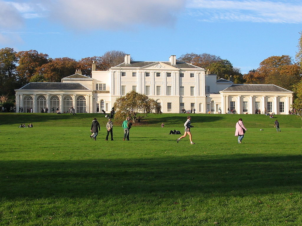 Robert Adam. Kenwood House. 1767-69. Hampstead, Inghilterra.