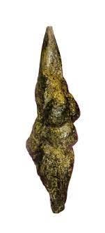 Venere di Savignano. Paleolitico. Scultura in pietra. Museo Pigorini, Savignano sul Panaro